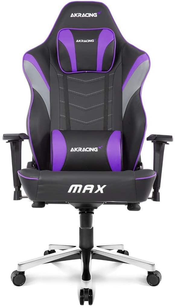 4. AKRacing Masters Series Max ( Wide Flat Seat Gaming Chair)