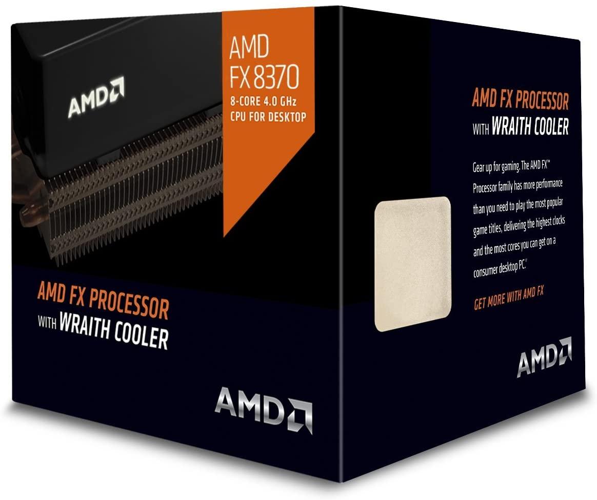 3. AMD FD8370FRHKHBX 4 GHz FX-8370, Black Edition ( Octa-Core Desktop CPU )