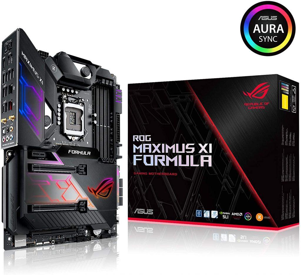 1. Asus ROG Maximus XI Formula LGA1151